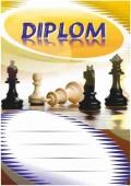 Diplom DL138 - šachy