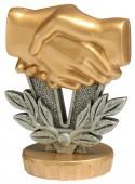 Figurka k trofeji U24 - přátelství
