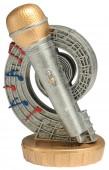 Figurka k trofeji U25 - mikrofon
