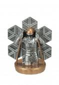 Figurka k trofeji U45 - lyžař běžky