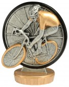 Figurka k trofeji U30 - cyklistika