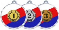 Medaile MA207 s trikolórou