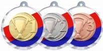 Sportovní medaile MA221 s trikolórou