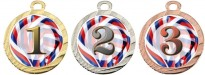 Sportovní medaile MA113 - trikolóra