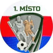 Sportovní barevný emblém EM304