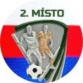 Sportovní barevný emblém EM305