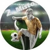 Sportovní barevný emblém EM252