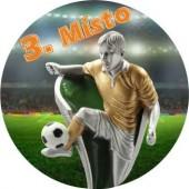 Sportovní barevný emblém EM253