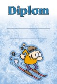 Diplom DL146 - dětský lyžařský