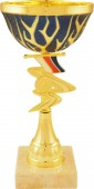 Sportovní pohár PET035 s českou trikolórou