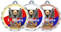 Sportovní medaile MA232 pozemní hokej