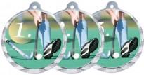 Sportovní medaile MA233 pozemní hokej