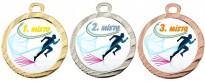 Sportovní medaile MA115 běh