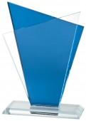 Sportovní skleněná plaketa GL051