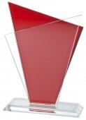 Sportovní skleněná plaketa GL052