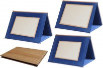 Plaketa s etuí H95 imitace dřeva