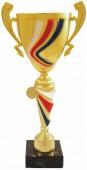 Sportovní luxusní pohár PLT123 s českou trikolórou