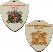 Medaile dřevěná ERB DE7/6