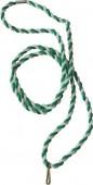 Stuha - šňůrka V4ZB - zeleno/bílá