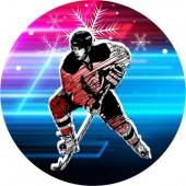 Emblém barevný EM55 hokej