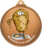 Medaile MA244 bramborová