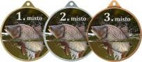 Medaile MA239 rybářská, kapr