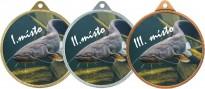 Medaile MA240 rybářská, sumec