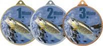 Medaile MA241 rybářská, pstruh