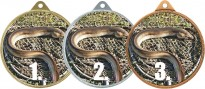 Medaile MA242 rybářská, úhoř