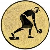 Emblém E38 Bowling žena