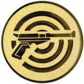 Emblém E89 pistole střelba
