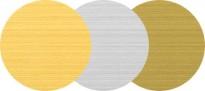 Štítek kovový KL - kulatý